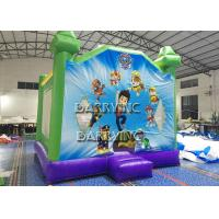 Wholesale PVC Material Inflatable Bouncer Castle With Slide 4m * 5m * 4m Waterproof from china suppliers