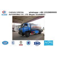Quality dongfeng brad 10,000L lpg gas delivery truck for sale, Dongfeng 190hp cooking gas transporting tank vehicle for sale for sale