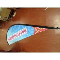 Wholesale Outdoor Advertising Teardrop Flag Banner with Kits from china suppliers