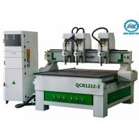 Wholesale 3 Spindles Woodworking Cnc Wood Router Machine Cnc Wood Cutting Carving Machine from china suppliers