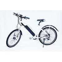 Buy cheap White Water Proof  Electric City Bike With Fender,250w 36v, 7 speed , front suspemsion from Wholesalers