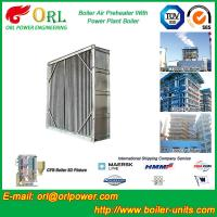 Quality Water Heat CFB Boiler APH Steam Air Preheater In Cement Plant , Tubular Air for sale