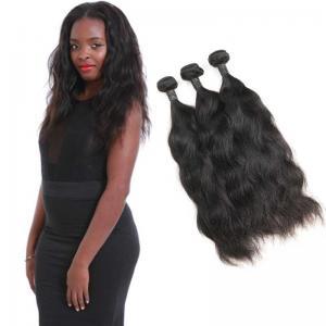 Wholesale 3 Bundles Of Natural Wave Virgin Hair / Natural Virgin Remy Human Hair from china suppliers
