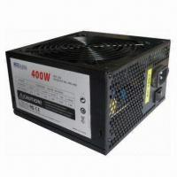 China High Efficiency ATX 12V PC Power Supply with 400W Rated Power and Internal 12cm Fan (Black case) on sale