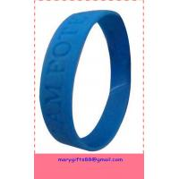 buy silicone discount bracelets for promotion with low price for sale