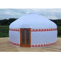 Wholesale Outdoor Waterproof Mongolian Inflatable Camping Dome / Inflatable Yurt Tent from china suppliers