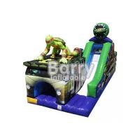 Wholesale Exciting / Challenging Inflatable Obstacle Courses With Slide SGS Certification from china suppliers