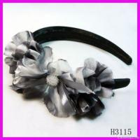 Wholesale Fashion Chiffon Floral Hairband from china suppliers