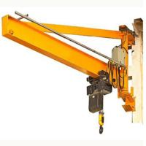 China Small Overhead Jib Crane / Rotating Jib Crane Workshop Warehouse Logistics Vehicle on sale