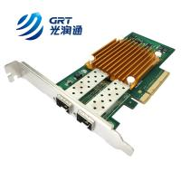 ANC10S Compatible Allied Telesis PCIe 10G dual- port SFP+ Intel 82599 Network Card for sale