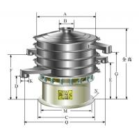 Wholesale Rotary vibrating sieve vibrating screen vibrating sieve vibratory screen vibration screen from china suppliers