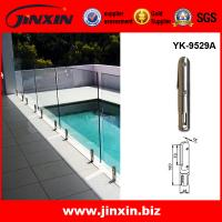 Quality Swimming pool prefabricated steel fence metal spigot for sale