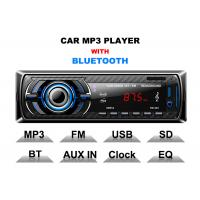 Wholesale Hands Free Calls Bt Car Stereo Car Stereo Head Unit With Bluetooth 3 Band Radio Store from china suppliers