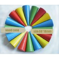 Wholesale wood cone wood toy wood game pieces from china suppliers
