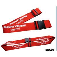 Wholesale 2 Inches 40 Inches Long Long Luggage Straps , Silk - Screen Luggage Strap Belt from china suppliers