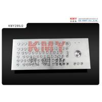 Wholesale Kiosk Metal Keyboard With Trackball U Shape Buttons IP65 Industrial Metal Keyboard from china suppliers