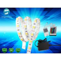 China 5M 5050 RGB 300 SMD LED Strip Lights IP65 With Controller / Power Supply for sale