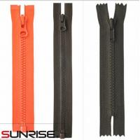 Wholesale 3#.5#.8# 10# paint open end plastic zipper from china suppliers