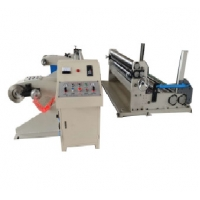 China automatic roll to roll paper slitter and rewinder machinery,paper roll slitting rewi on sale