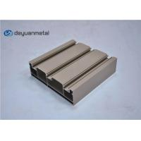 Wholesale Standard Tan Powder Coating Aluminum Extrusions Shapes With Alloy 6063-T5 from china suppliers