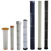 Wholesale High Efficiency Industrial Dust Filter With PU / Rubber Top End Cap Long Life from china suppliers
