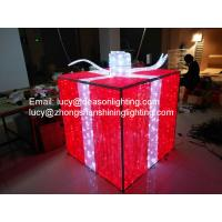 Wholesale christmas gift box decoration light from china suppliers
