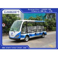 Wholesale High Impact Fiber Glass Body Electric Shuttle Car , 11 Seats Electric Passenger Vehicle With Sun from china suppliers