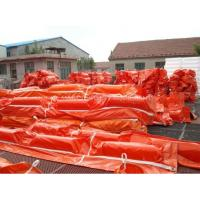 China PVC Floatation Oil Containment Boom oil absorbent boom on sale