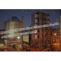 China Industrial Structural Steel Fabrications Bolivia Cement Plant on sale