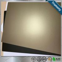 Wholesale Decoration Stainless Steel Composite Panel High Grade Color Painted For Fireproof from china suppliers