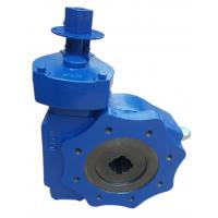 China Compact Gate Valve Quarter Turn Gearbox Gray Iron Nodular Material on sale