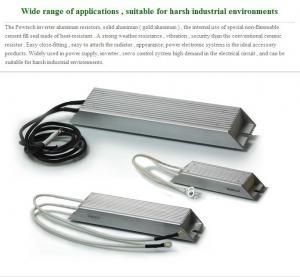 Quality 1200w Gold Aluminum Inverter Brake Resistor Heat - Resistant Powtech for sale