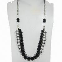 Wholesale Long Beaded Necklace, Sized 74cm from china suppliers