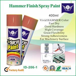 China 400ml Decorative Graffiti Hammer Spray Paint For Steel Door / Ceramic on sale
