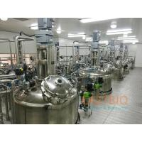 China Mechanical Seal  Air Blow Stirred Tank Fermenter Glass Rotameter Ring Sparger for sale