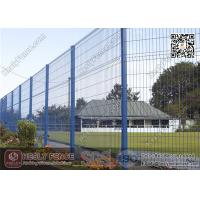 Wholesale 2.0m height X 2.5m Width  Welded Wire Security Mesh Fencing Panels with Green Color PVC coated from china suppliers