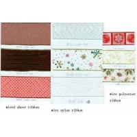 China Wire Edge Ribbon on sale