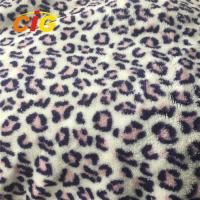 Buy cheap 100% Polyester Leopard Printed Coral Fleece for Blanket Bed Sheet Home Textile from wholesalers