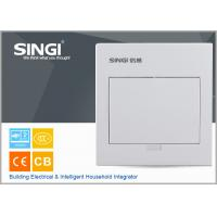 Wholesale MCB power electrical distribution box SINGI brand GNB 3007 7 ways ivory-white color power distrbution box from china suppliers