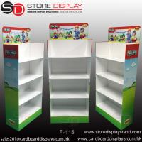 Wholesale Four tiers Floor display stand shelves from china suppliers
