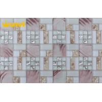 Wholesale Acid - Resistant Glass Mix Metal Kitchen Backsplash Mosaic Tile For Wall from china suppliers
