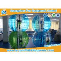 Wholesale Blue Striped Color Inflatable Bubble Soccer Human Loopy Ball CE / UL Approved from china suppliers
