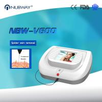 China 30Mhz High Frequency Spider veins removal / facial leg veins removal / 980nm Diode laser on sale