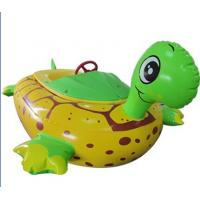 Wholesale Water Games Inflatable Toy Boat Electric Tortoise Animal Bumper Boat from china suppliers