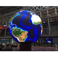 Wholesale 2.5m Diameter P6 Sphere Led Display 360 Degree Outdoor Led Ball Screen Saudi Arabia from china suppliers