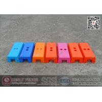 Wholesale Plastic Temporary Fencing Block / Temporary Fence Feet from china suppliers