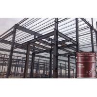 Super Thin Exterior Water Based Latex Paint  Fire Protection For Metal Steel for sale