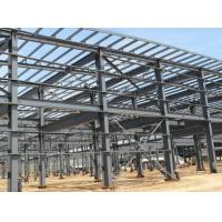China Q235 , Q345 Industrial Steel Buildings Prefab Light With Detailing And Fabrication for sale