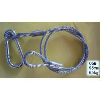 Wholesale Plastic Coated Steel Wire 80mm Safety Rope Stage Light Clamp from china suppliers