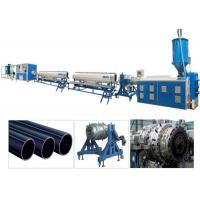 Quality PPR PP HDPE PE Pipe Plastic Extrusion Machine / Production Line Single Screw for sale